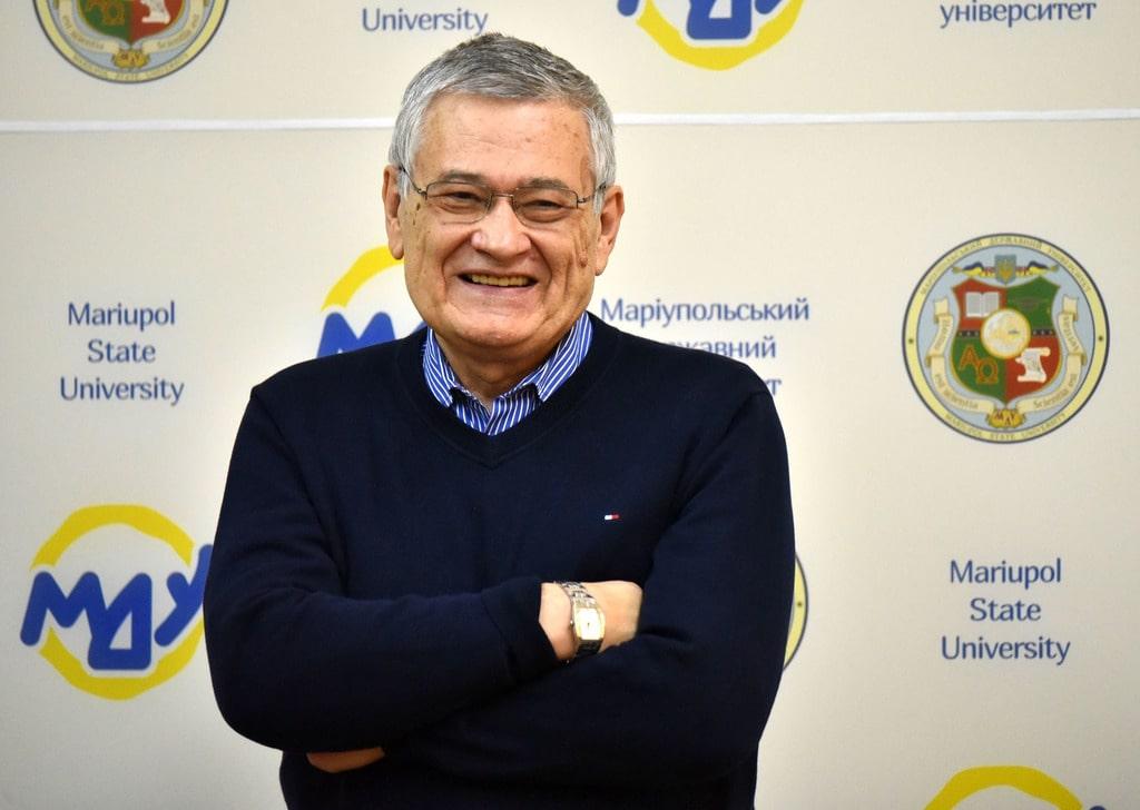 Георгий Почепцов в Мариупольском государственном университете