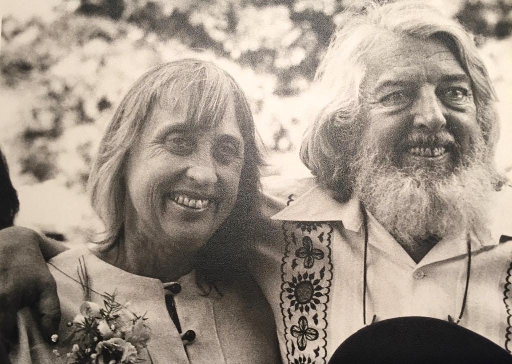 Мэри и Роберт на свадьбе